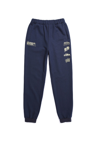 BA L.L LOGO SWEAT PANTS NAVY