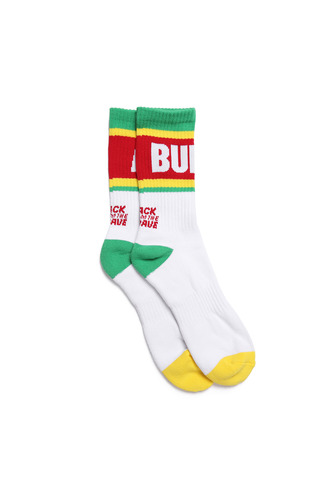 BA ALIVE SOCKS WHITE/GREEN