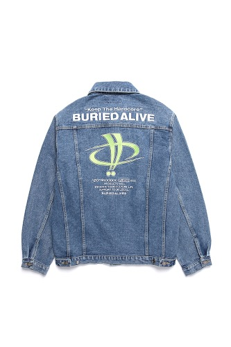 BA X FLUSH DENIM JACKET