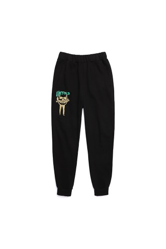 BA UNTOLDSWEAT PANTS BLACK